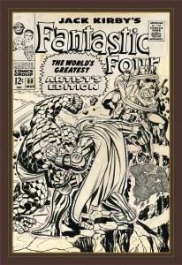 Jack Kirby Fantastic Four Worlds Greatest Artist Ed HC