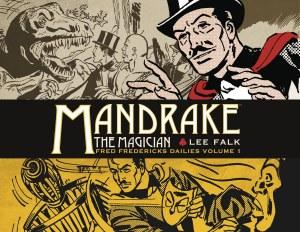 Mandrake The Magician Fred Fredericks Dailies HC Vol 01