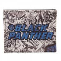 Black Panther Comic Art Bifold Wallet