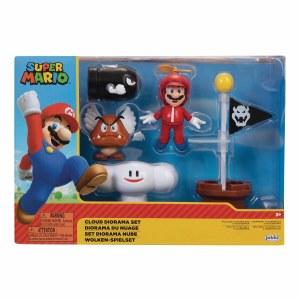 Nintendo 2.5 In Cloud Diorama Figure Set