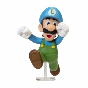 Nintendo 2.5in Ice Luigi Figure