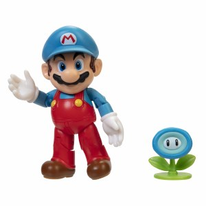 World of Nintendo 4 In Ice Mario Action Figure
