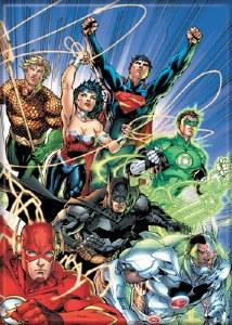 DC Comics New 52 Justice League of America #1 Magnet