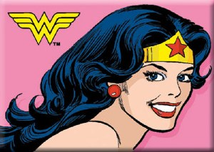Smiling Wonder Woman Magnet