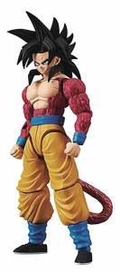 Dragon Ball GT SS4 Son Goku Figure-Rise Model Kit New Pkg Ver