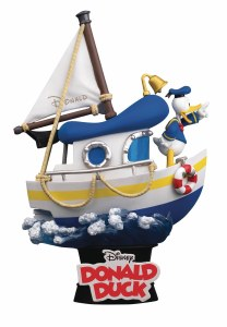 Disney DS-029 Donald Duck's Boat D-Stage Ser PX 6In Statue