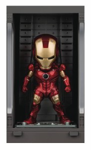 Iron Man 3 Mea-015 Iron Man Mk III w/ Hall Of Armor PX Figure