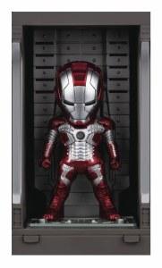 Iron Man 3 Mea-015 Iron Man Mk V w/ Hall Of Armor PX Figure