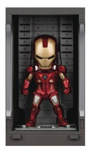 Iron Man 3 Mea-015 Iron Man Mk VII w/ Hall Of Armor PX Figure