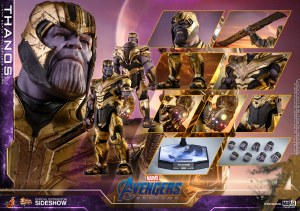 Hot Toys Avengers Endgame Thanos 1/6 Scale Action Figure