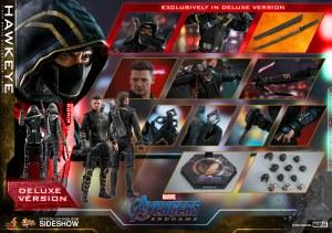 Hot Toys Avengers Endgame Hawkeye Deluxe 1/6 AF