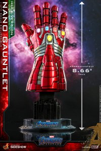 Hot Toys Avengers Endgame Nano Gauntlet Hulk Ver 1/4 Scale Collectible