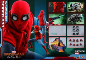 Hot Toys Spider-Man Far From Home Spider-Man Homemade Suit 1/6 AF