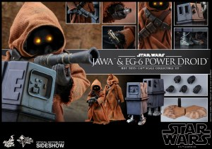 Hot Toys Star Wars A New Hope Jawa/Power Droid