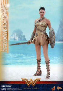 Hot Toys Wonder Woman Movie Wonder Woman Training Armor Version 1/6 Scale Action Figure