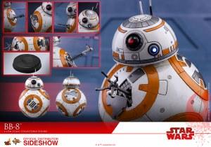Hot Toys Star Wars The Last Jedi BB-8 1/6th Scale AF Set
