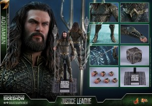 Hot Toys Justice League Movie Aquaman 1/6 Scale AF