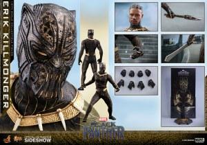 Hot Toys Black Panther Movie Erik Killmonger 1/6 Action Figure