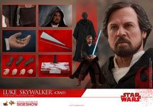 Hot Toys Star Wars The Last Jedi Luke Skywalker Crait 1/6 Scale AF