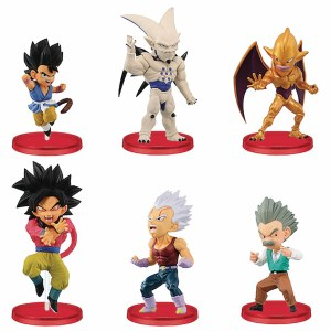 Dragon Ball GT World Coll V4 Assorted Boxed Figurines