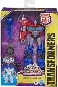 TransFormers BumbleBee Cyberverse Adventures Optimus Prime Action Figure