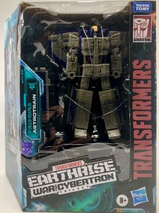 Transformers Earthrise War for Cybertron Leader Class Astrotrain AF