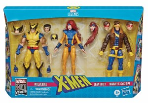 Marvel Legends X-Men Wolverine/Jean Grey/Cyclops AF 3 Pack