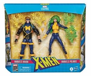 Marvel Legends X-Men Havok/Polaris X-Factor 2 Pack Action Figure