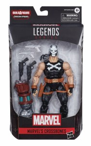 Marvel Legends Black Widow Crossbones Comic Book Action Figure