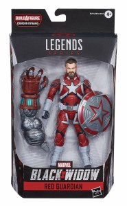 Marvel Legends Black Widow Movie Red Guardian Action Figure