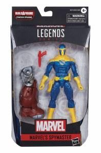 Marvel Legends Black Widow Spymaster Comic Version Action Figure