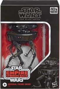 Star Wars Black Empire Strikes Back Imperial Probe Droid Action Figure