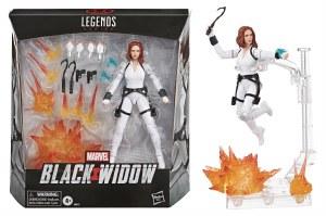 Marvel Legends Black Widow Movie Deluxe Black Widow Action Figure