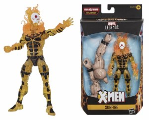 Marvel Legends Age of Apocalypse X-Men Sunfire AF