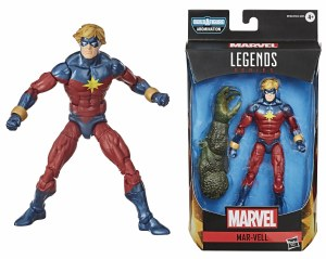 Marvel Legends Avengers Mar-Vell Action Figure