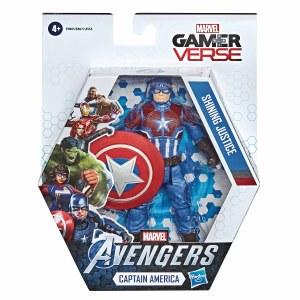 Avengers Gamerverse Captain America 6 In Basic Action Figure