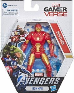 Avengers GamerVerse Iron Man Overclock Action Figure