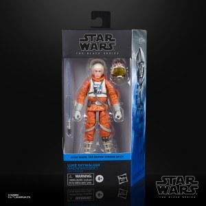 Star Wars Black Empire Strikes Back Luke Skywalker Snowspeeder Outfit 6 In Action Figure