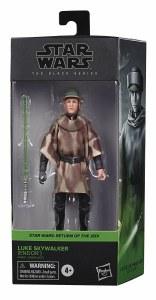 Star Wars Black Return of the Jedi Luke Skywalker in Combat Poncho 6 In Action Figure