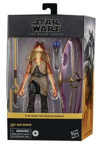 Star Wars Black The Phantom Menace Jar Jar Binks Deluxe Action Figure