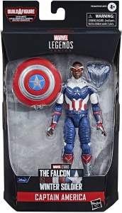 Marvel Legends Disney Plus Falcon and the Winter Soldier Captain America Sam Wilson 6 In Action Figure
