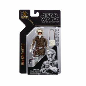 Star Wars Black Han Solo in Hoth Gear Action Figure