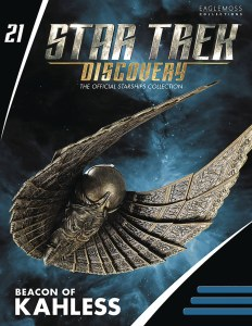 Star Trek Discovery Fig Mag #21 Beacon Of Kahless