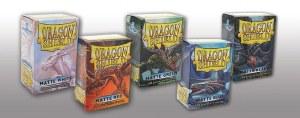 Dragon Shield Matte Black Sleeves 100 ct