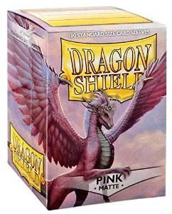 Dragon Shield Matte Pink Sleeves 100 ct