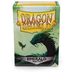Dragon Shield Matte Emerald Sleeves 100 ct