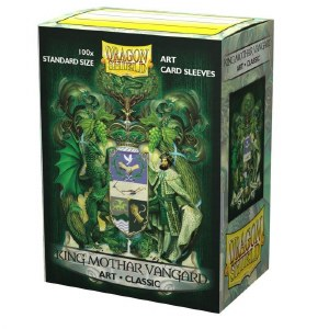 Dragon Shield King Mothar Vangard Classic 100ct Sleeves