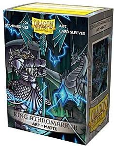 Dragon Shield King Ahtromark III Matte 100ct Sleeves