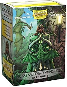 Dragon Shield King Mothar Vangard Matte 100ct Sleeves