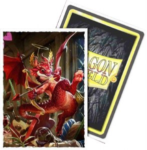Dragon Shield Art Sleeves Matte Valentine Dragon 100 count
